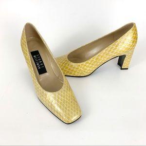 Vintage Stuart Weitzman Snakeskin Heels